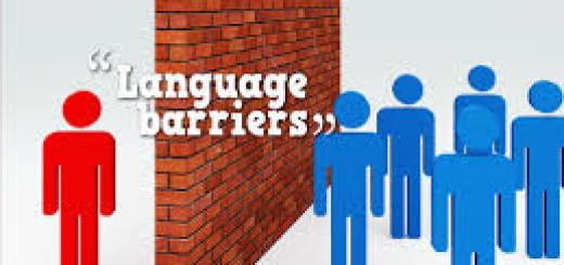 タイの言語障壁について