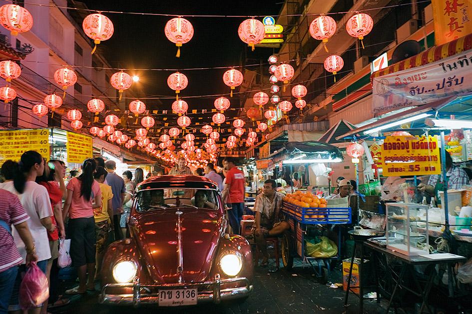 バンコク夜市