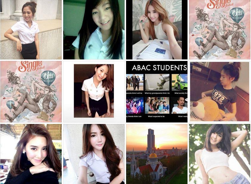 タイの可愛い大学生