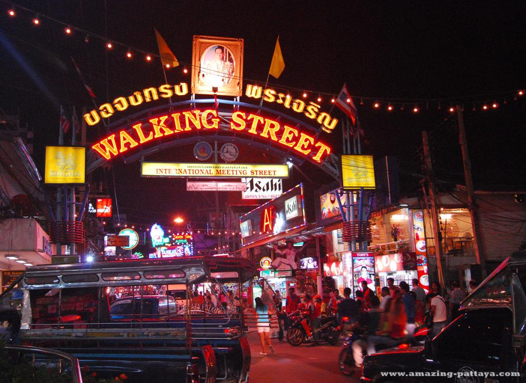 パタヤ walking_street