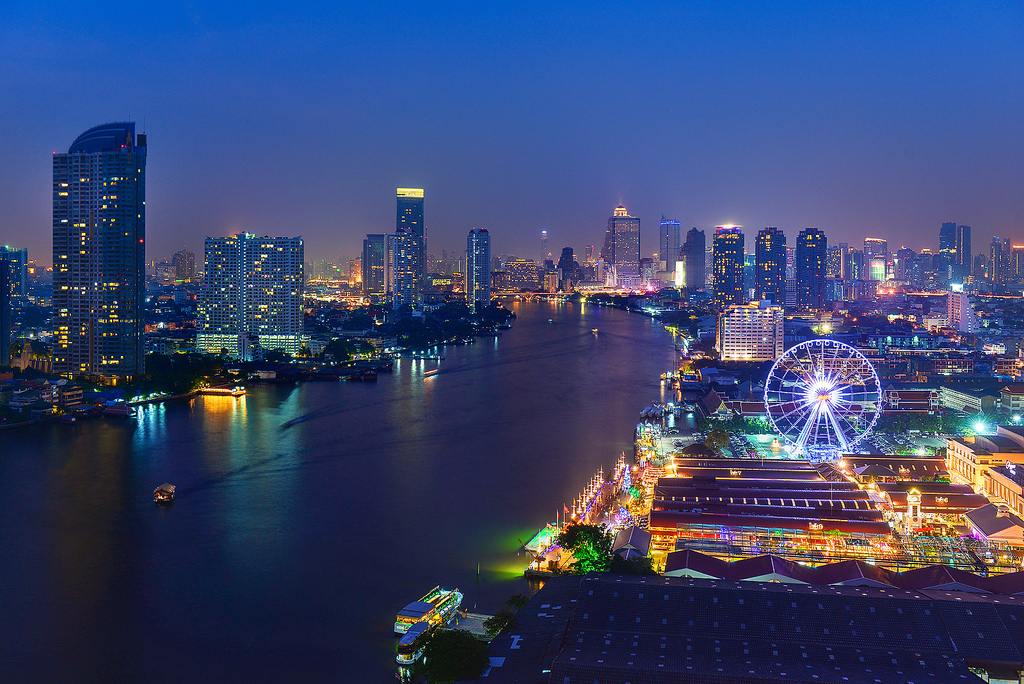 タイの夜景