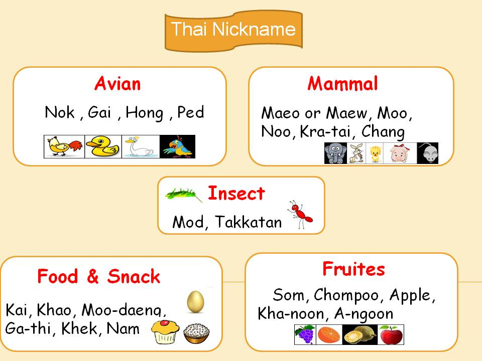 Thai-nickname