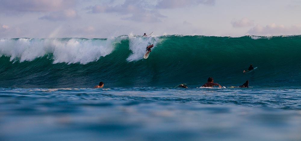 Uluwatu Outside Corner: Bali Surf Photos