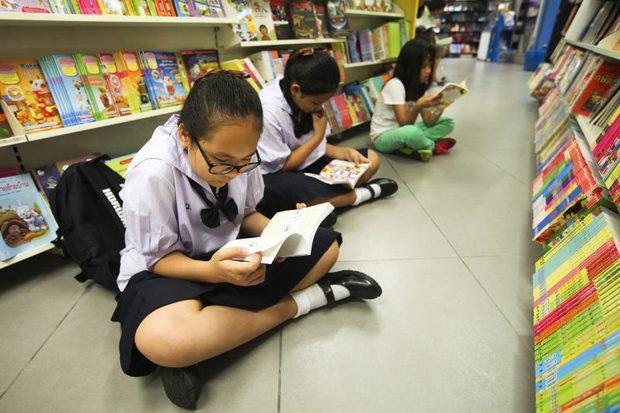 タイ人は本読まない
