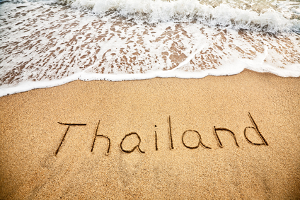 Thailand on the sand