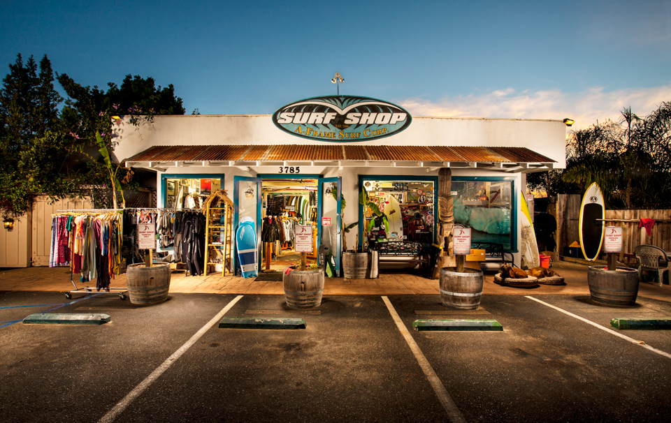 A Frame Surf Shop