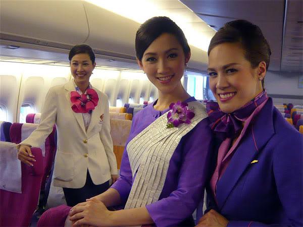 タイ航空かわいい