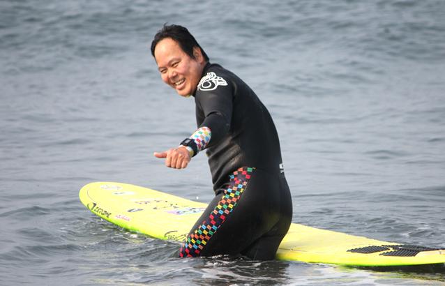 香港サーファー