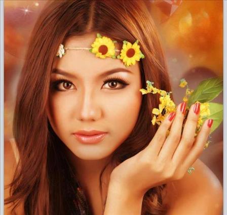 ミャンマー美人