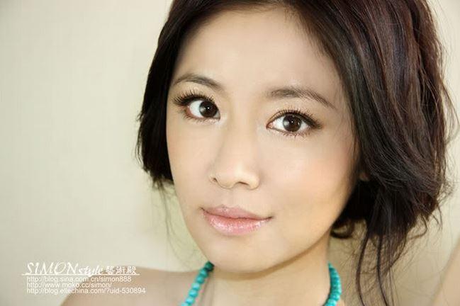 中国美女アヒル顔