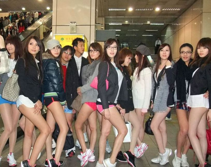 台湾可愛い女性たち