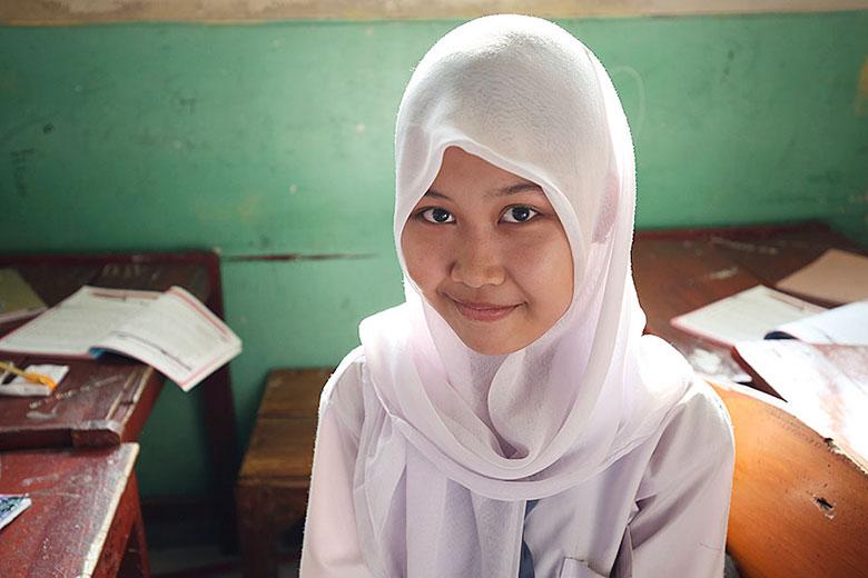 インドネシア女性