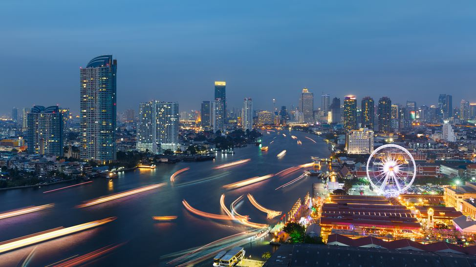 バンコクは大都会