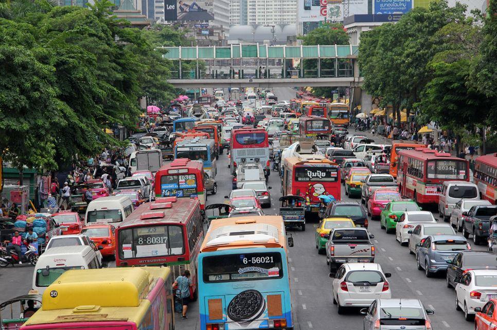 タイ道路あるある