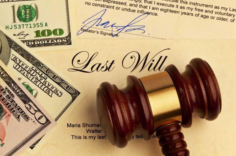 遺産相続の署名