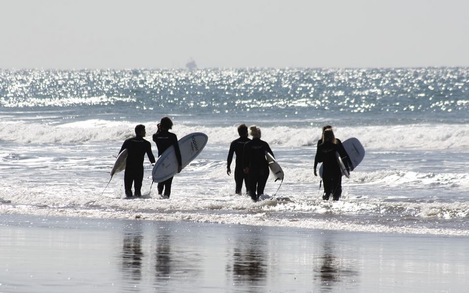 サーフィン仲間