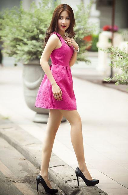 スタイル抜群ベトナム美女