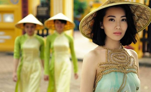 ベトナムアオザイ女優