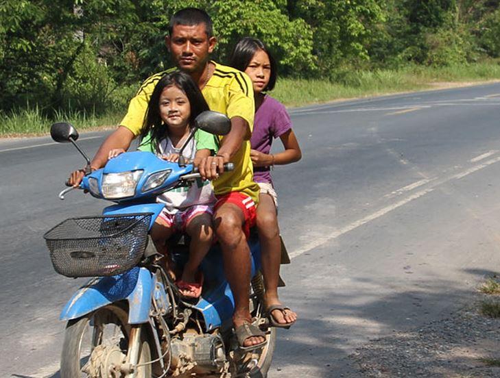 3けつバイク