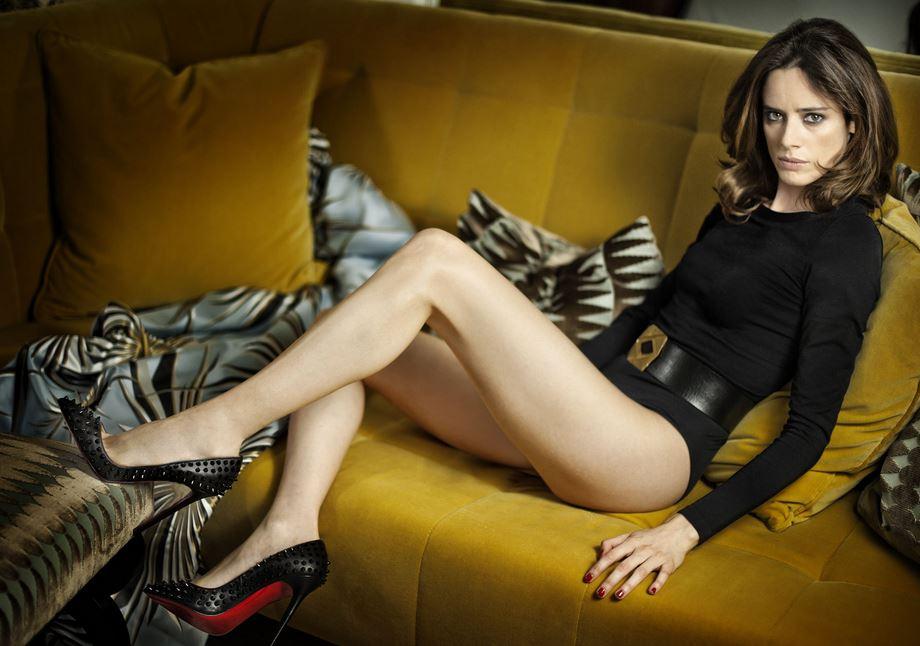 スペイン美脚美人
