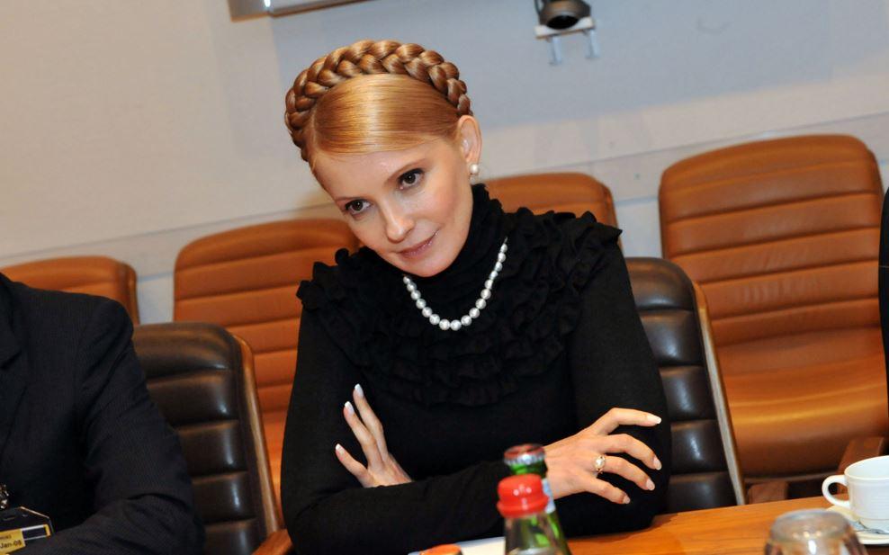 ウクライナ美人首相