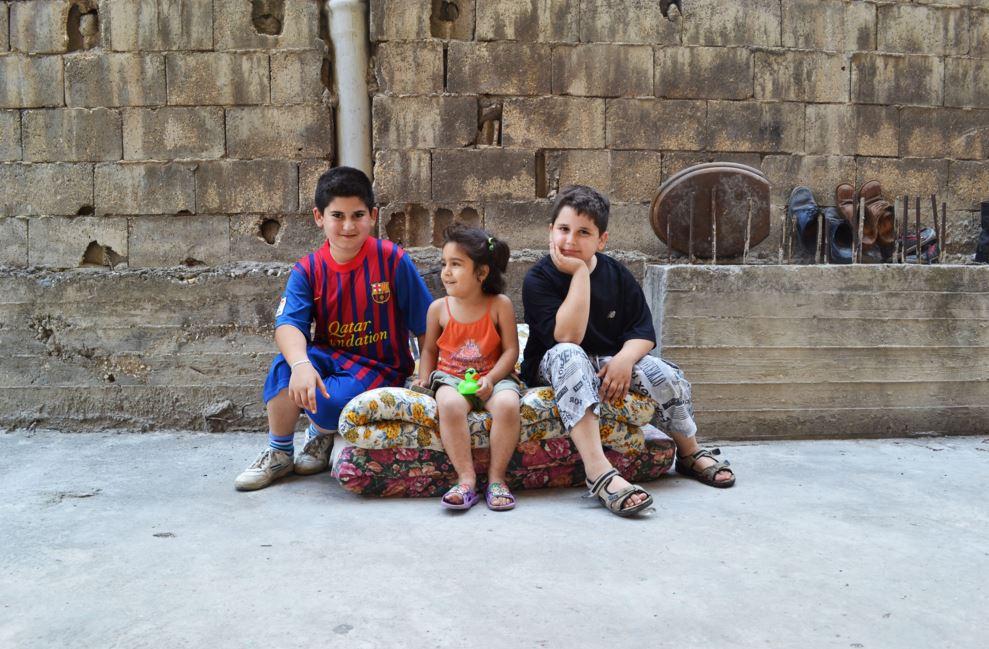 シリアの子供達