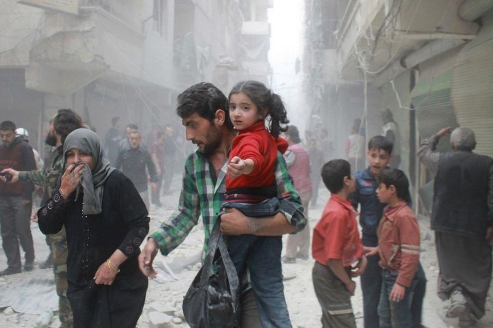 シリア人の難民