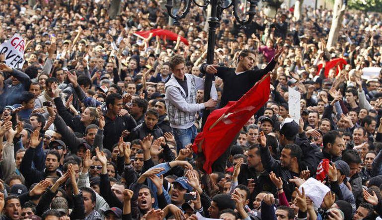 チュニジアでの革命