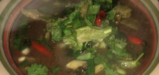 ドブ水スープ