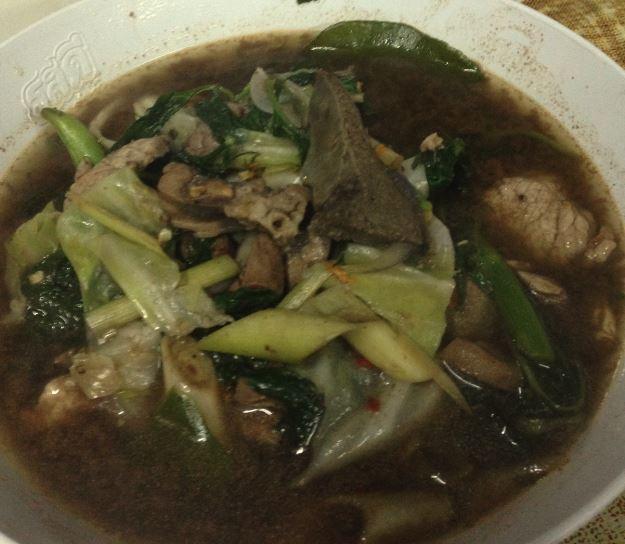 味薄目スープ