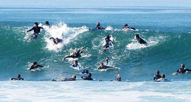 サーフィンのルール