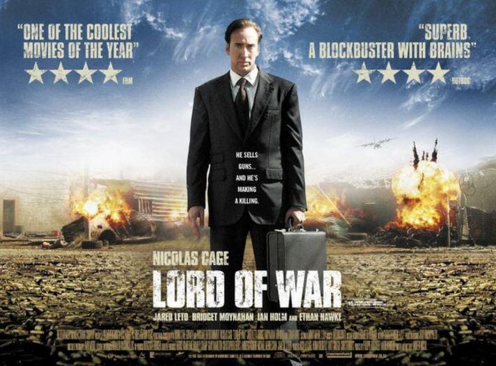 戦争武器商人映画