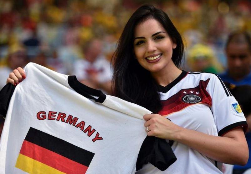ドイツ超絶美人サポーター