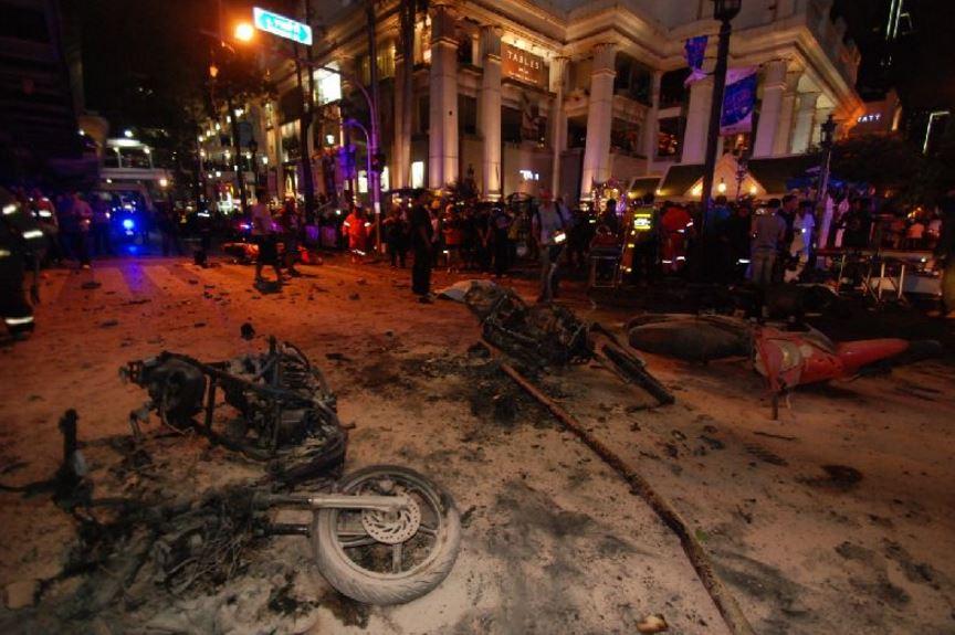 タイのテロ