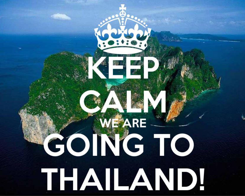 タイに行く