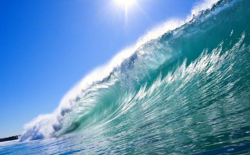 サーフィンと自然