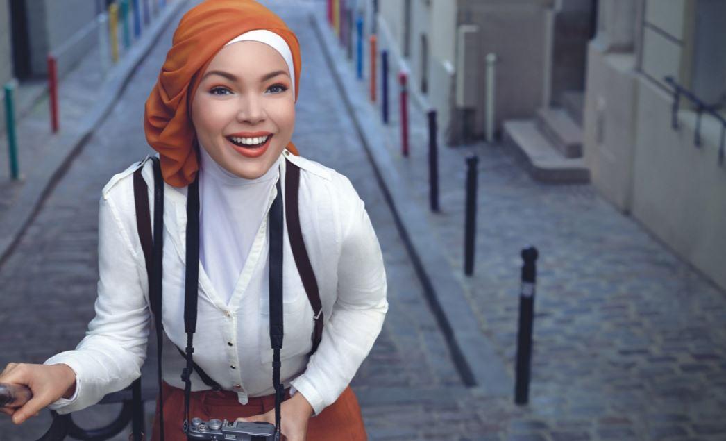 ムスリム美女
