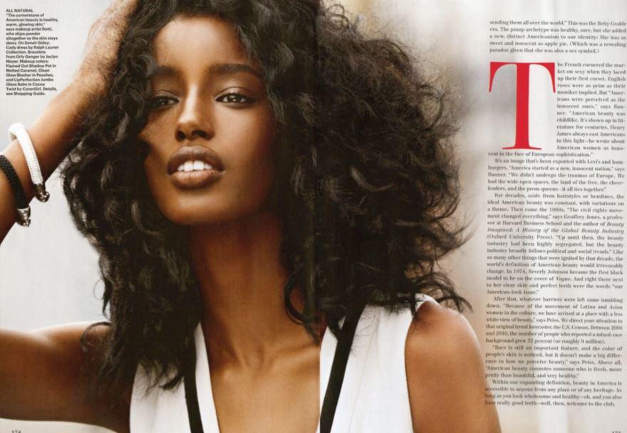 エチオピアのスーパーモデル