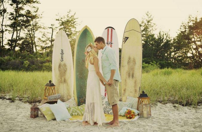 サーファーの恋愛スタイル