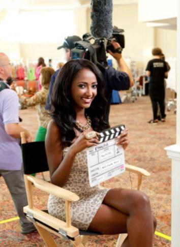 黒人美人女優