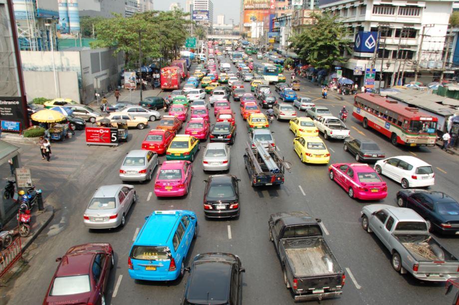 タイの交通事故