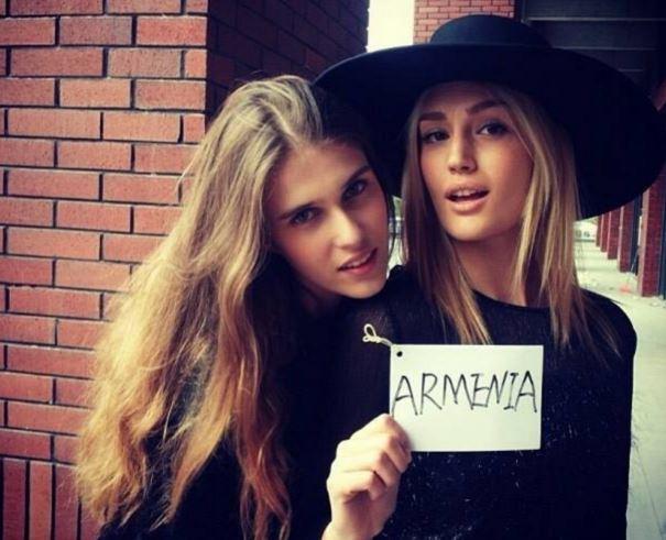 未知の国アルメニアの美人女優・...