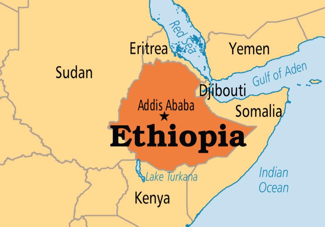 エチオピア地理