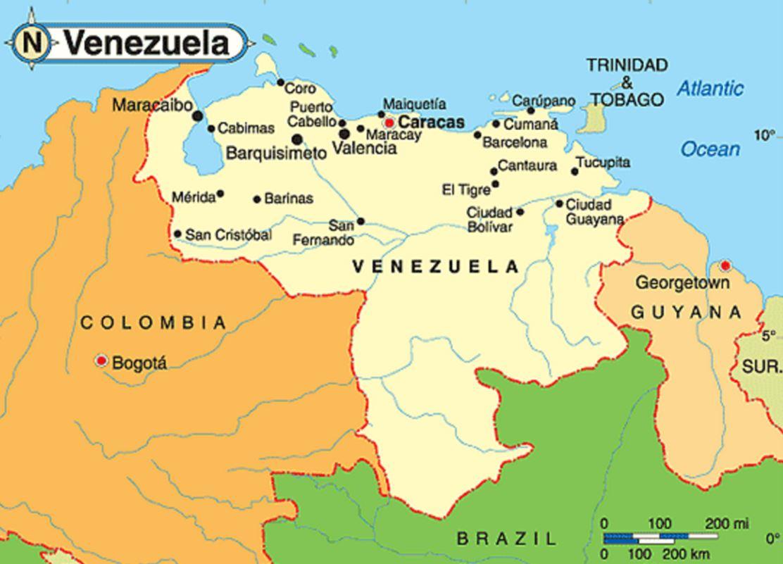 ベネズエラ場所