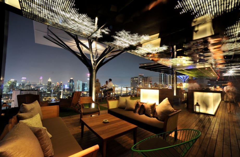 夜景がきれいなレストラン