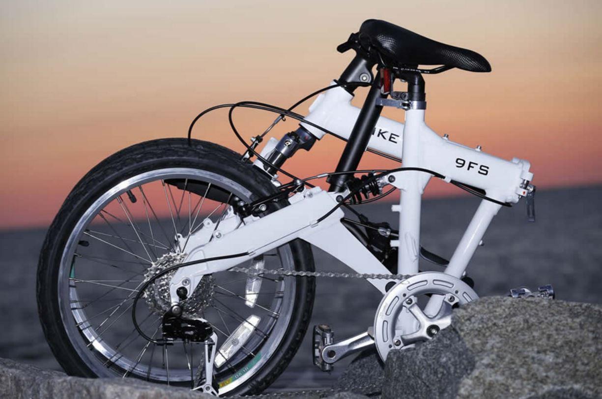 サーフィン折り畳み式自転車