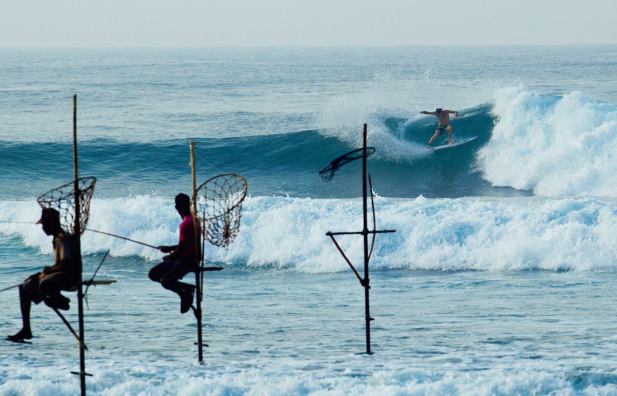 スリランカサーフィン最高
