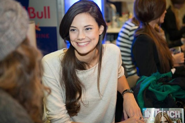 スイス美人の笑顔