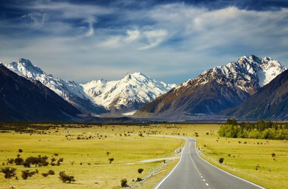 ニュージーランドの田舎