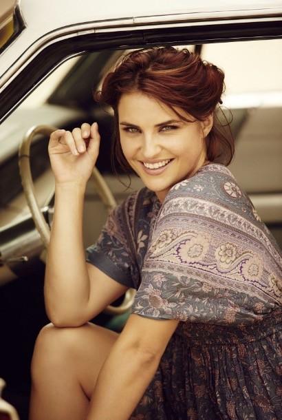 ニュージーランドの美人モデル